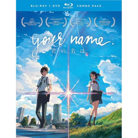 Your Name (Blu-ray + DVD) (VUDU Instawatch Included) - Halloween Party Names Clever