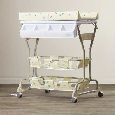 Deluxe bathinette (bathtub and changer combo) in Beige