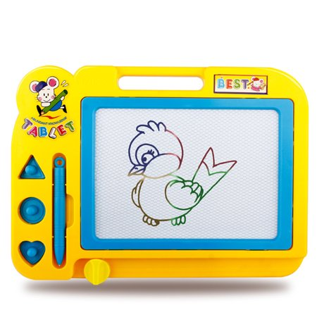 Best Children Educational Toy Sketch Pad Magnetic Drawing Writing Board for Boys and Girls Random Color deal