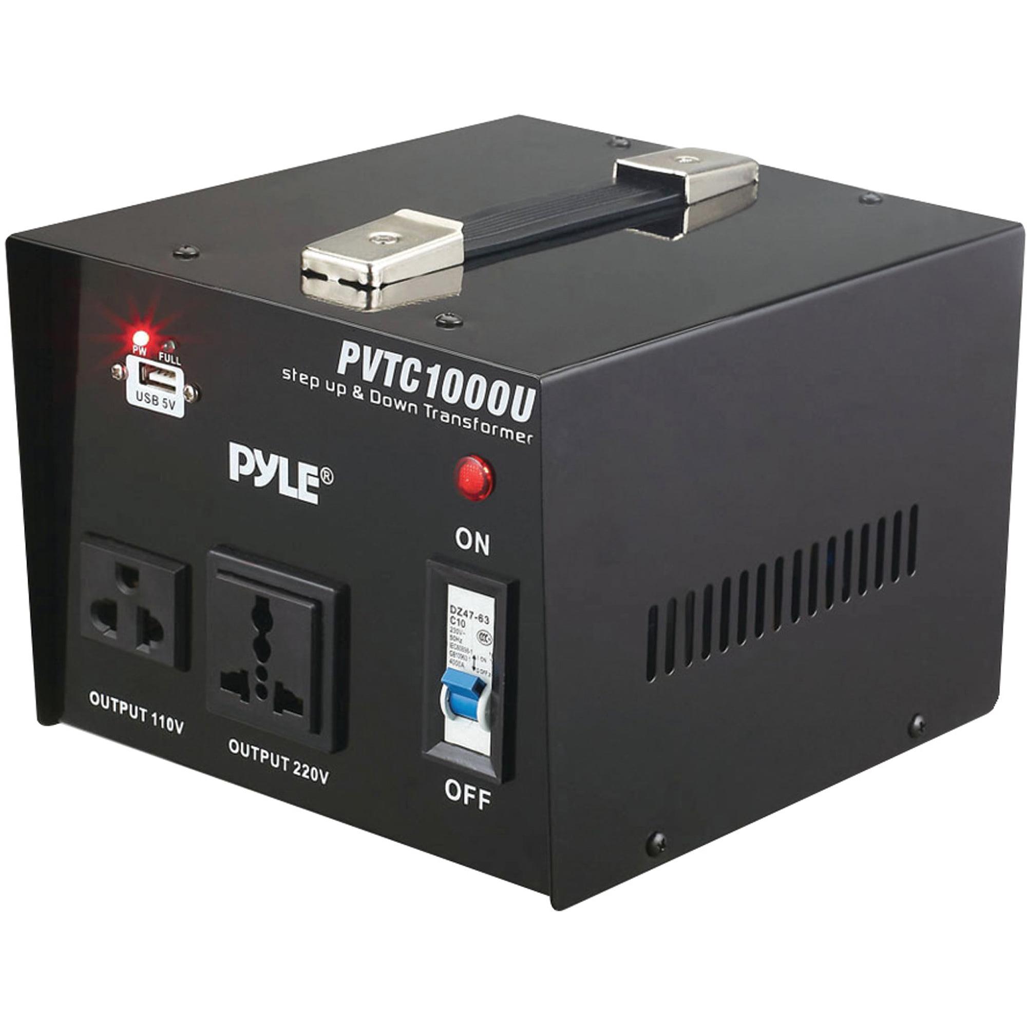 Pyle-meters PVTC1000U Step Up and Step Down Voltage Converter Transformer
