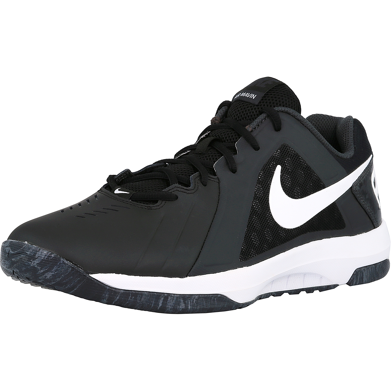 Nike Men's Air Mavin Low Black / White-Anthracite Ankle-High Basketball Shoe - 10M