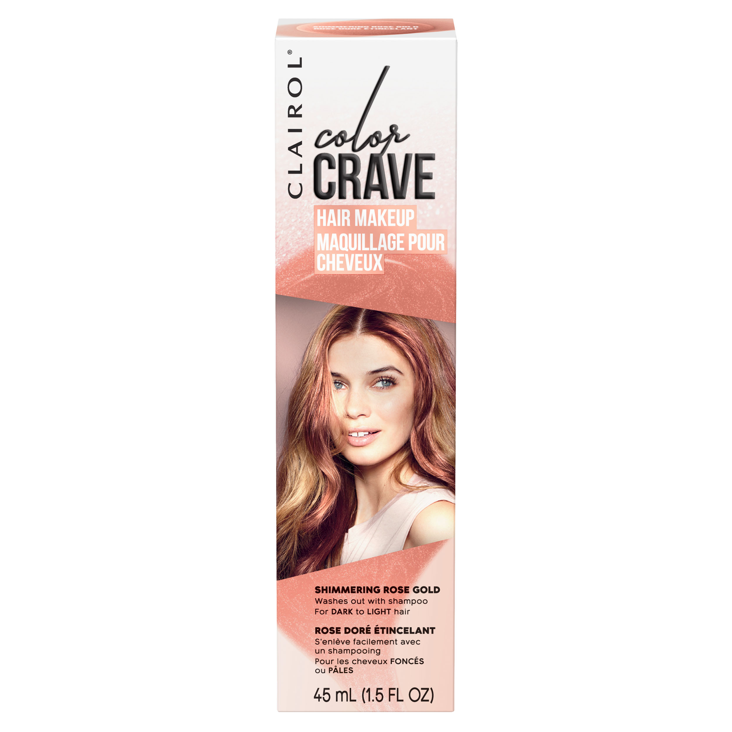 Clairol Color Crave Temporary Hair Makeup,Brilliant Ruby