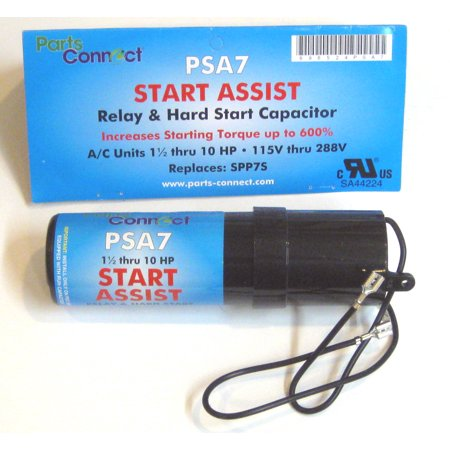 Air Conditioner HVAC Compressor Hard Start Capacitor Increase Torque 600% PSA7