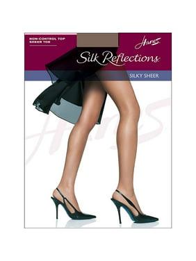c9c6d3d8faa Product Image Hanes Silk Reflections Sheer Toe Pantyhose - 715