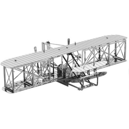 Fascinations Metal Earth 3D Laser Cut Model - Wright Brothers Airplane ()