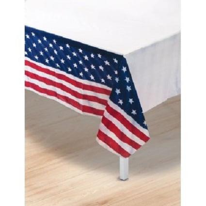 Patriotic Table Cover 1/Pkg Pkg/1 - Patriotic Table