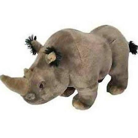 Cuddlekins Adult White Rhino Plush Stuffed Animal by Wild Republic, Kid Gifts, Zoo Animals, 12 Inches](Zoo Stuffed Animals)