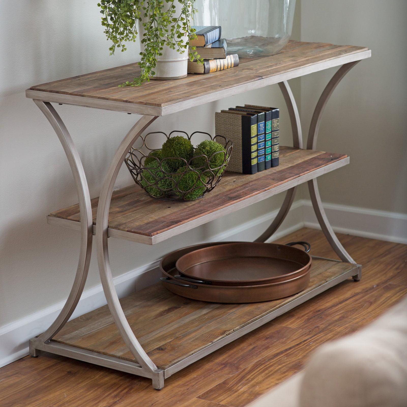 Belham Living Edison Reclaimed Wood Console Table