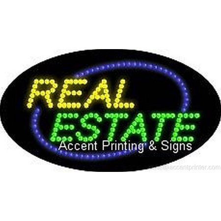 Real Estate Led - Real Estate Indoor Flashing & Animated High Impact Energy Efficient LED Sign