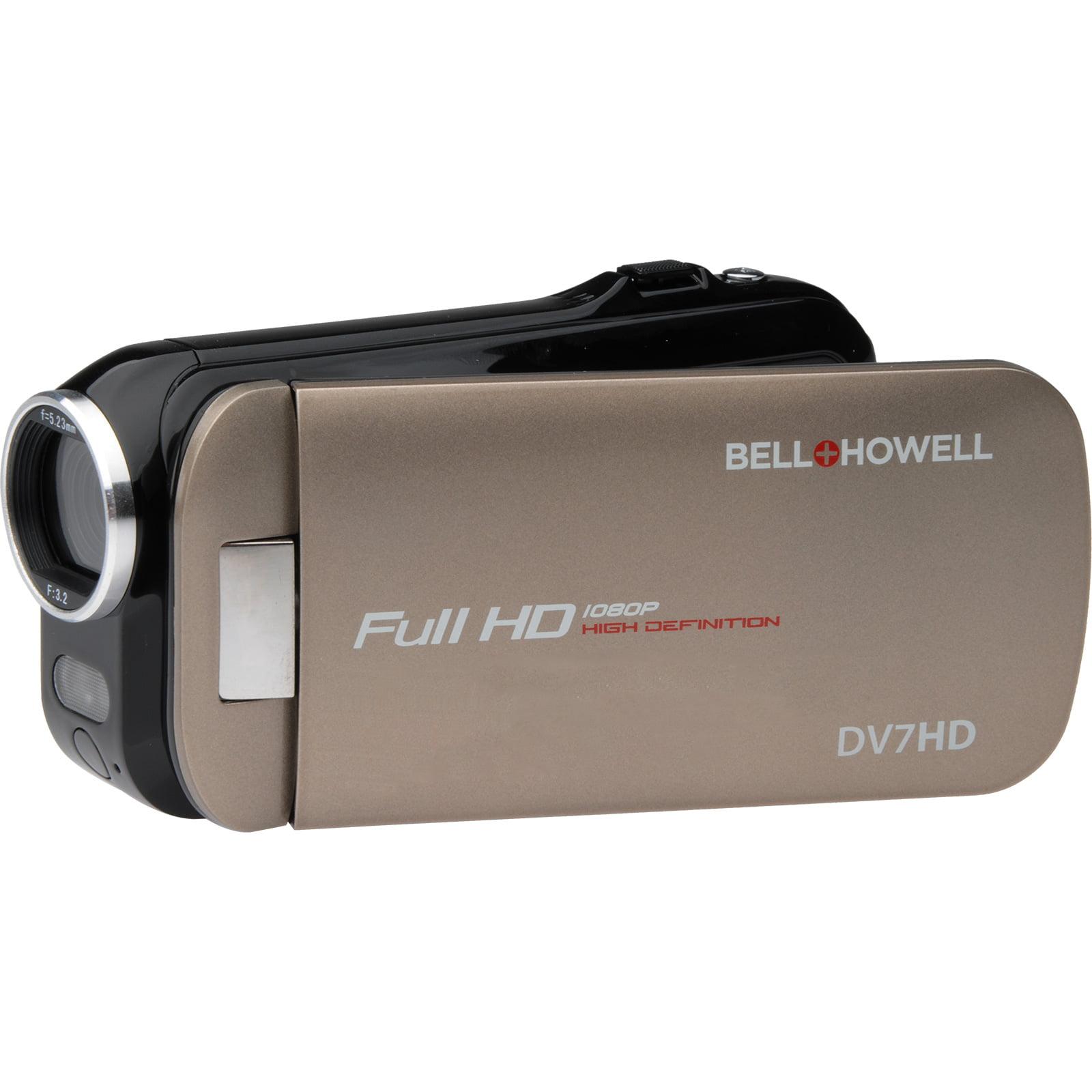 Bell & Howell Slice2 DV7HD 1080p HD Slim Video Camera Camcorder (Champagne)