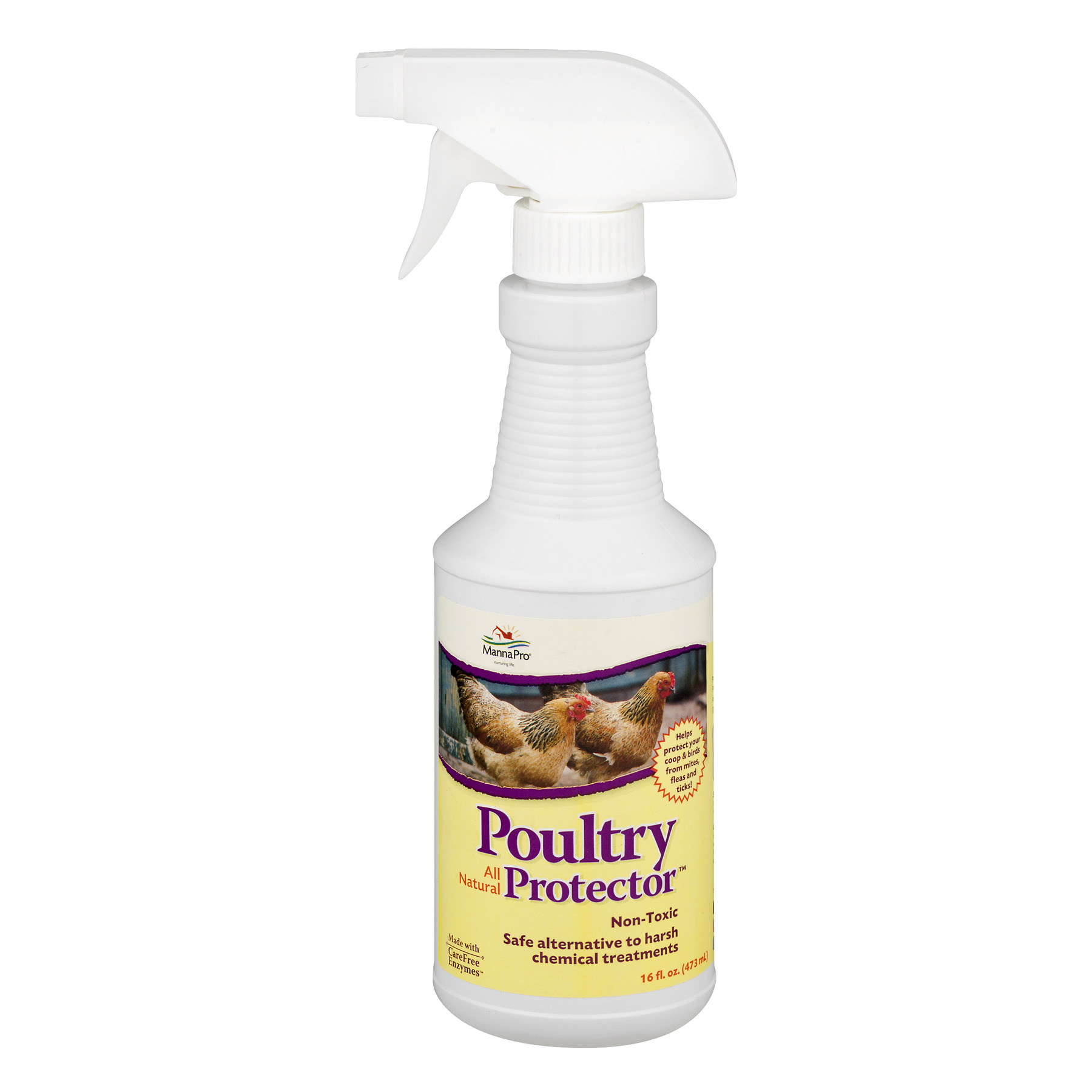 Manna Pro Poultry All Natural Protector, 16 fl oz.