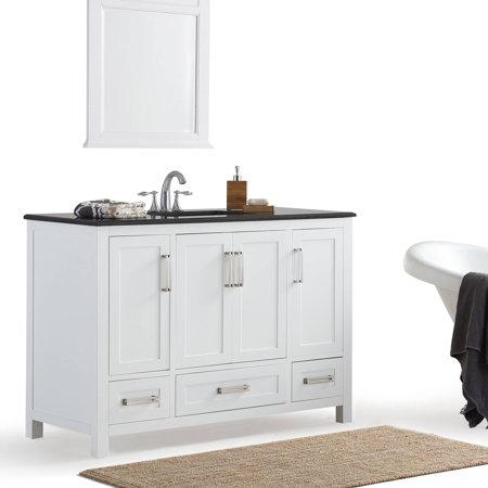 Granite Vanity (Simpli Home Evan 48