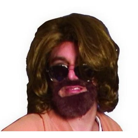The Big Lebowski The Dude Costume Wig & Beard Kit One Size for $<!---->
