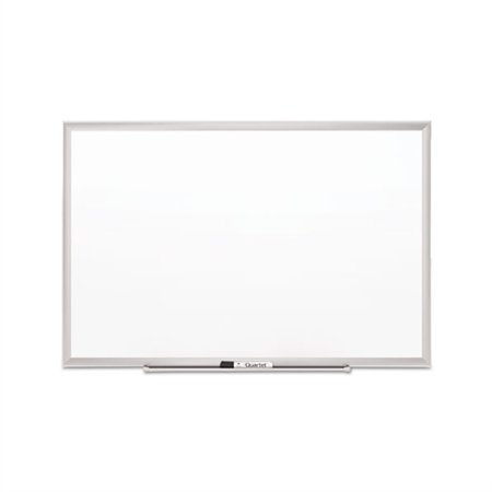 Quartet Classic Porcelain Magnetic Whiteboard, 36 x 24, Silver ...