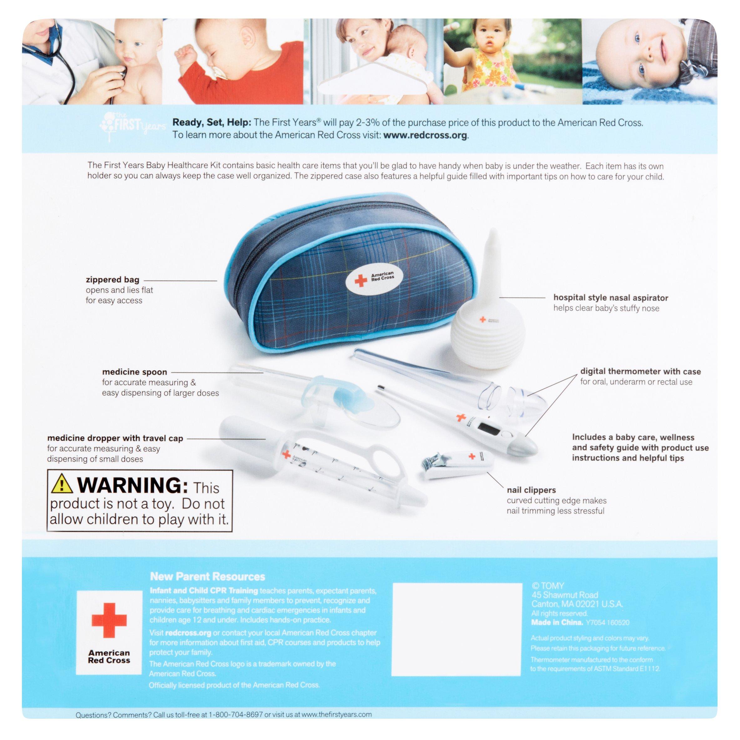 American Red Cross Baby Healthcare Kit - Walmart.com