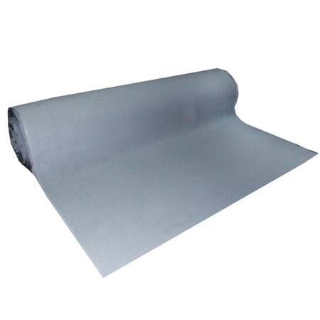 Automotive Roof Upholstery Headliner Fabric Craft Foam Backing Gray 12 in x  60 in