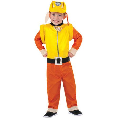 paw patrol rubble toddler halloween costume