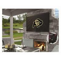 Holland Bar Stool TV40ColoUn University of Colorado Vinyl TV Cover, Black