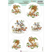 "Wee Stamps Topper Sheet 8.3""X12.2""  -Cozy Christmas"
