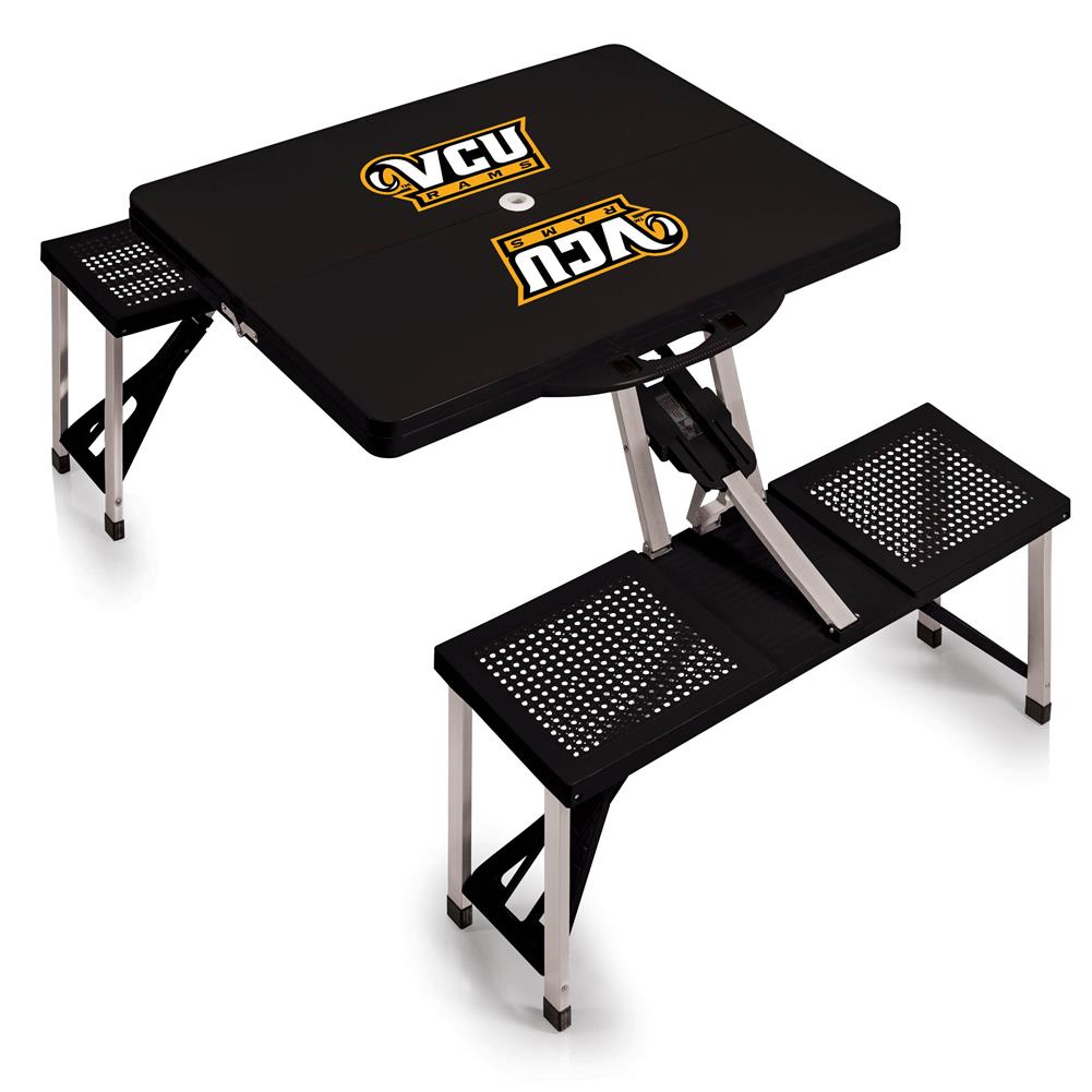 Virginia Commonwealth Rams Portable Folding Tailgate Picnic Table by Picnic Time