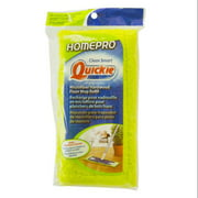 Quickie 0764M Homepro Mighty Mop Refill, Terry Cloth, 6.5w X 2.5d, Green