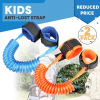 Product Image TSV 2Packs Toddler Baby Kids Safety Harness Hand Belt  Anti-lost Walking Strap Wrist Leash 492f1456c5260