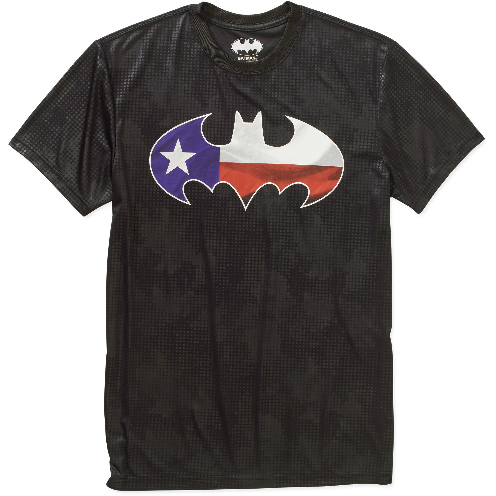 Batman Texas Logo Men's Performance Graphic Tee