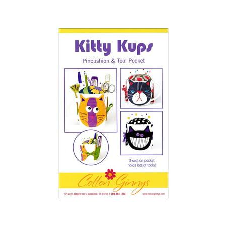 Cotton Ginnys Kitty Kups Tool Pocket Ptrn