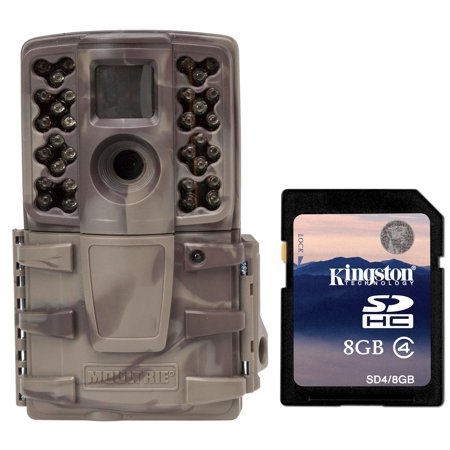 Moultrie No Glow Invisible 12 MP Mini A20i Infrared Trail Game Camera + SD