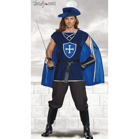 Men's Mighty Musketeer Costume (Musketeer Costume)
