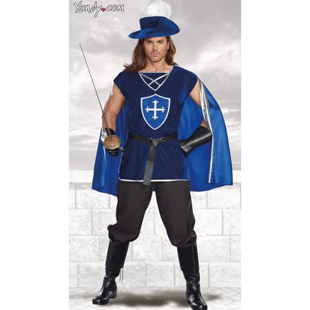 Men's Mighty Musketeer Costume for $<!---->