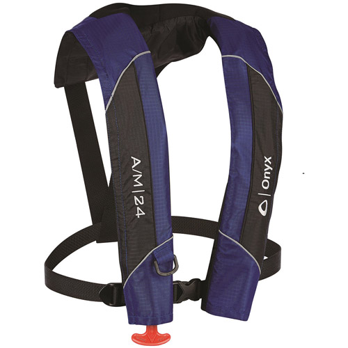 Onyx Outdoor A/M-24 Auto/Man Inflatable Life Jacket