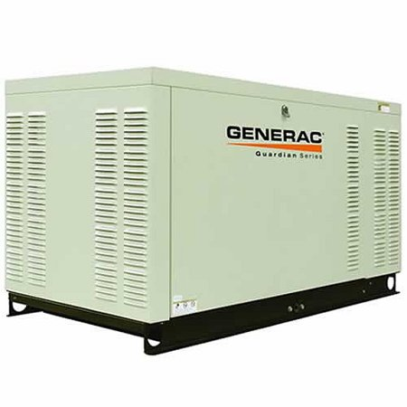 Generac QT02515GNSX Guardian Series Liquid-Cooled 1 5L 25kW 120/208V  3-Phase Natural Gas Steel Generator (CARB)