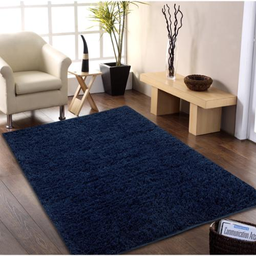 Affinity Home Collection Hand-woven Flokati Wool Shag Rug (5' x 8')