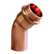 Viega 77637 0.5 in. 45 deg ProPress Copper Elbow with Street Press Connection