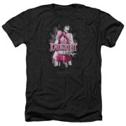 Bettie Page Knockout Mens Heather Shirt