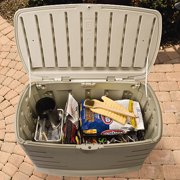 Rubbermaid 75 Gallon Outdoor Storage Box Image 2 of 3Rubbermaid 75 Gallon Outdoor Storage Box   Walmart com. Rubbermaid Exterior Storage Containers. Home Design Ideas
