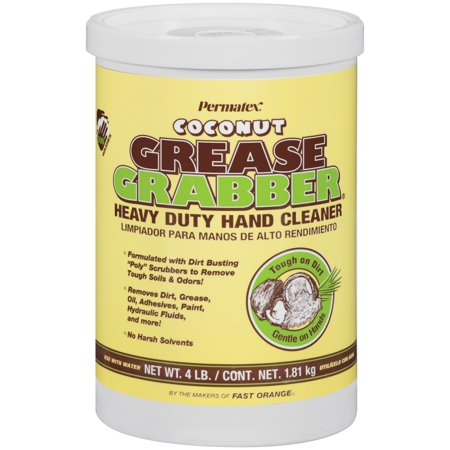 Grease Grabber® Heavy Duty Hand Cleaner Coconut 4 lb.