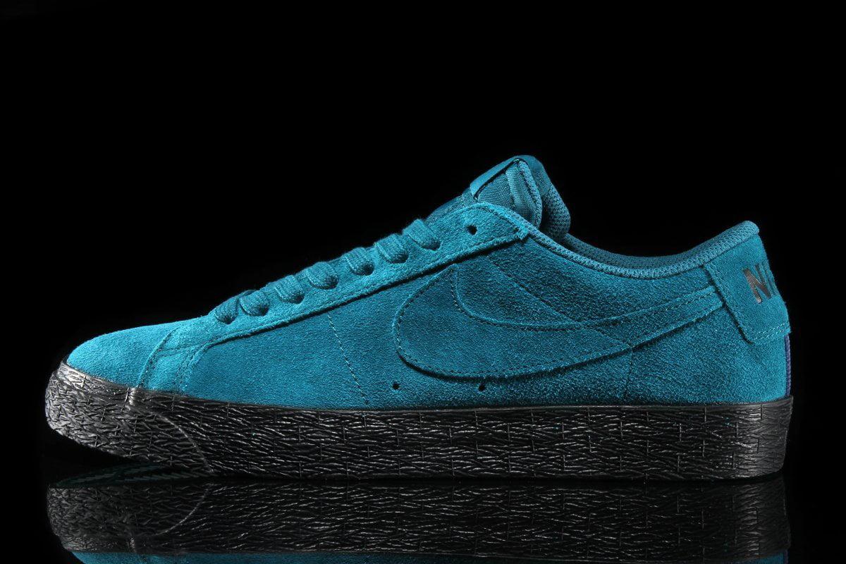 Mens Nike SB Zoom Blazer Low Geode Teal
