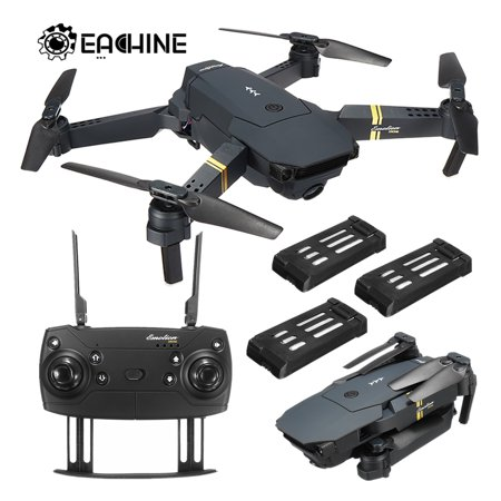 Eachine E58 0.3MP/2MP HD Camera WIFI FPV RC Drone FLY MORE COMBO Foldable Arm Quadcopter High Hold & Headless Mode Toys Gifts For Kid Adult - Toys That Fly