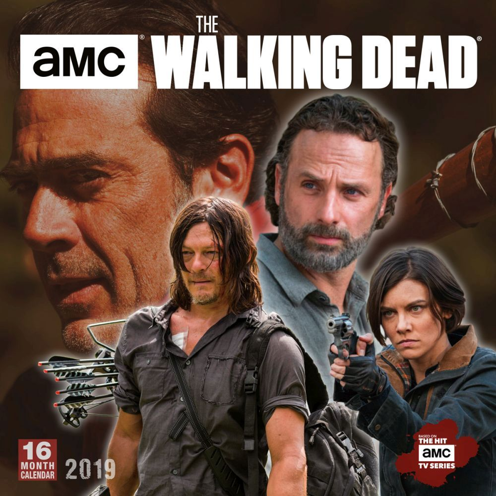 Walking Dead 2019 Calendar 2019 Walking Dead Wall Calendar, by Sellers Publishing   Walmart.com