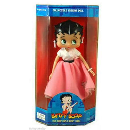 """Betty Boop 10"""" Mini Doll w/ Fab 50"""