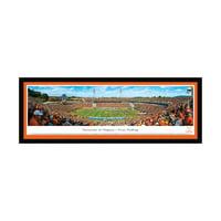 "Virginia Cavaliers 42"" x 15.5"" 50-Yard Line Select Frame Panoramic Photo"