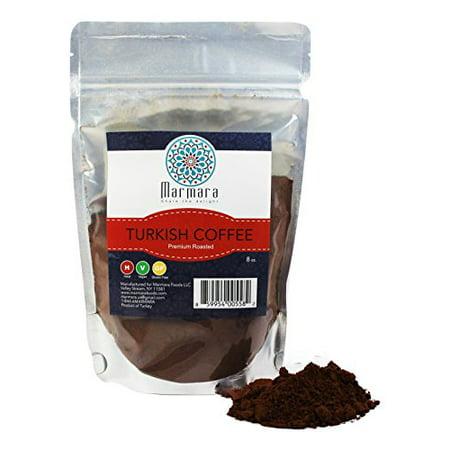 Marmara Premium Roasted Turkish Coffee 8 Oz