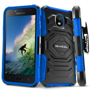 Galaxy J3 (2018) Case, Evocel New Generation Series [Belt Clip Holster] [Kickstand] [Dual Layer] Phone Case for Samsung Galaxy J3 (2018 Release), Blue