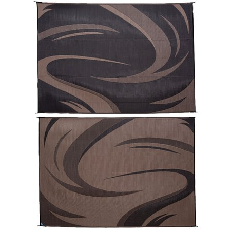 Ming S Mark Reversible Camping Mat With Swish Design Walmart Com