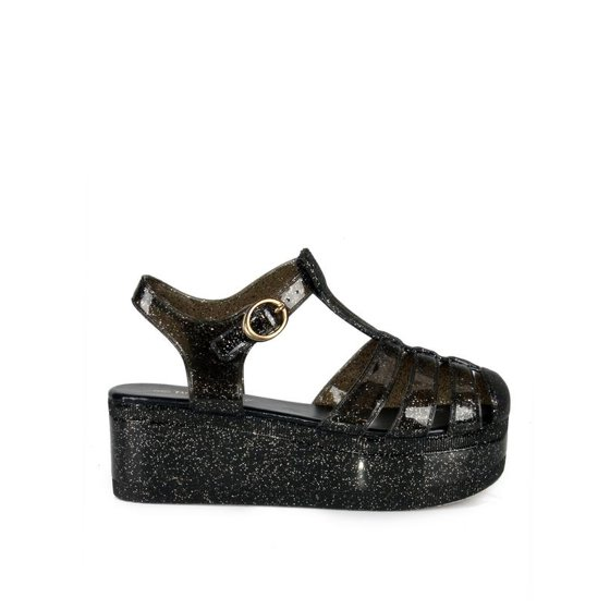 64fafed96d6f Nature Breeze - Nature Breeze caged Jelly Platform Women's Sandals ...