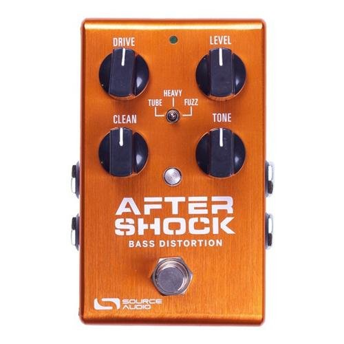 Source Audio One Series AfterShock Bass Distortion Bass Effect Pedal by Source Audio