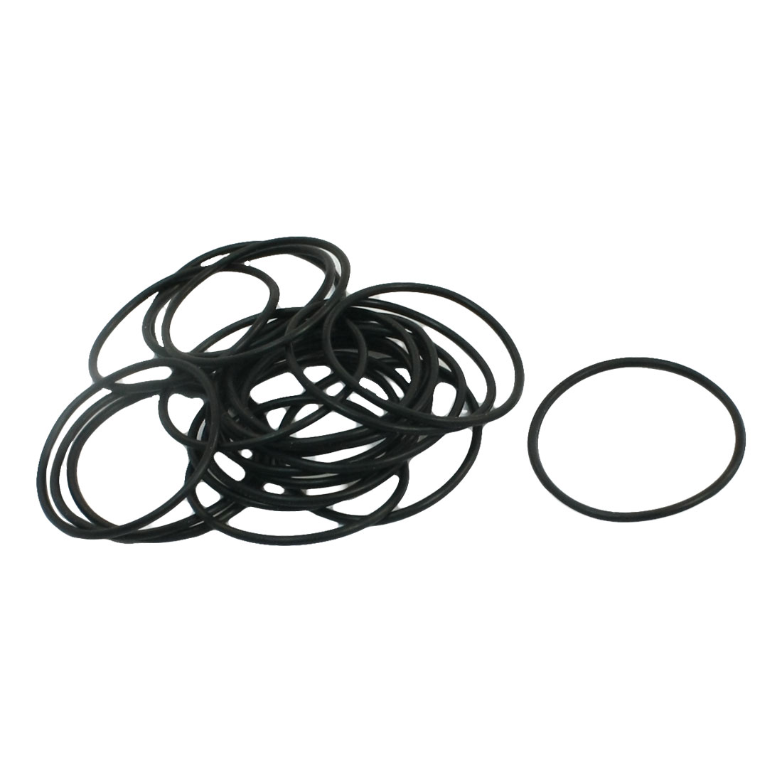Unique Bargains 10Pairs 22mm x 20mm x 1mm Industrial Rubber Sealing Oil Filter O Rings Gaskets