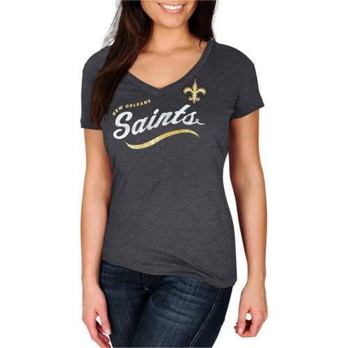 NFL New Orleans Saints Women's V-Neck Tee